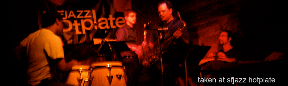 Michael Zilber and Weather Wayne at SF Jazz Hotplate