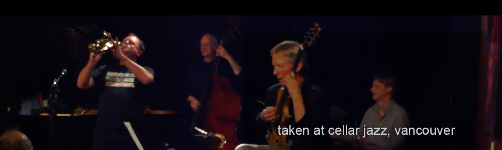 Michael Zilber and John Stowell at Cellar Jazz